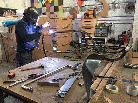 Philippe Gauberti - atelier